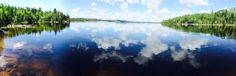 Gorgeous panoramic view Rebekka shared with us while shooting in Northern Canada!