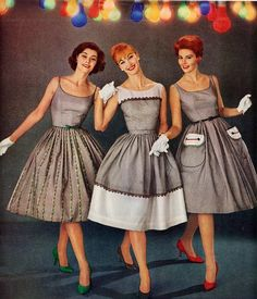 50s fashion, why do I love it so much? :)