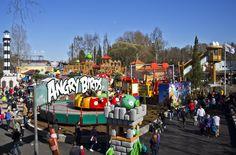 Särkänniemi di Tampere, in Finlandia, in June Angry Birds Land is opening