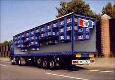 Creative Advertising, Creative, Pepsi, Truck, and Advertisment image ideas & inspiration on Designspiration Optical Illusions Pictures, Illusion Pictures, Cool Illusions, Funny Advertising, Creative Advertising, Funny Ads, Advertising Ideas, Advertising Space, Mobile Advertising