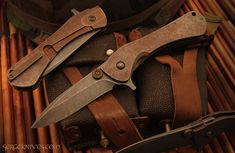 Trope by Serge Knives. A bit more ornate than my usual preference but this guy is an excellent craftsman.