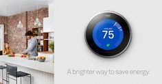 Nest Smart Thermostat, Energy Saving Tips, Save Energy, Energy Bill, Heating And Cooling, Home Hacks, Energy Efficiency, Cool Stuff