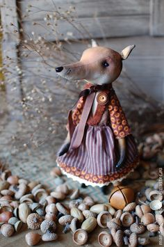 Лиса Ржавка. Handmade.