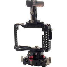 Movcam A7SII A7RII Twist Cage Kit: The Movcam Cage Kit for Sony A7 II, A7R II and A7S II provides the added protection, stability, and mounting options needed to get your camera ready from video production use.