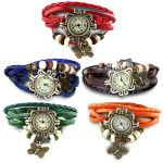 Combo of 5 Women Vintage Bracelet Watches At Rs 499