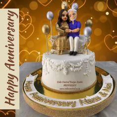 Happy Marriage Anniversary Cake, Anniversary Cake With Photo, 25th Wedding Anniversary Cakes, Anniversary Cake Designs, Happy Birthday Wishes Cake, Happy Birthday Cake Images, Wedding Cake Images, Socrates, Parents