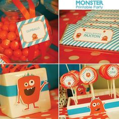 Monster theme party