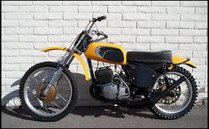 S565 1972 CZ 250MX ... the Czechs knew how to build a motocrosser back in the day! The CZ was formidable...
