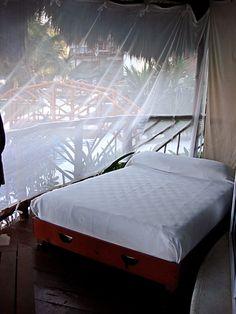 El Dorado Casitas Royale by Karisma on Mexico's Riviera Maya - Fabulous outdoor bed on the Lanai