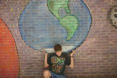 Art of Apex High School: chalk