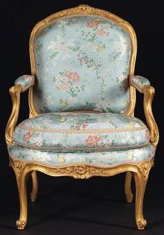 Suite de quatre fauteuils «A la Reine» Par Jean Boucault (vers 1705-Paris, 1786) Reçu Maître en 1728 France, époque Louis XV, vers 1760.