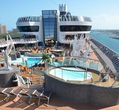 Check out the MSC Divina, newest #cruise ship to sail to the Caribbean.
