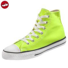 Converse Chuck Taylor All Star High Sneaker Kinder neon gelb (electric yellow) (27) - Converse schuhe (*Partner-Link)
