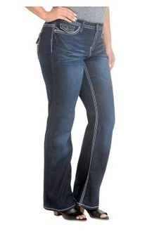 New Hydraulic Jeans.  Premium Crafted Hydraulic Plus Gramercy Slim Boot.  #denim #jeans #plussize