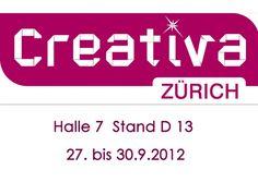 Creativa Zürich 27. bis 30.9.2012