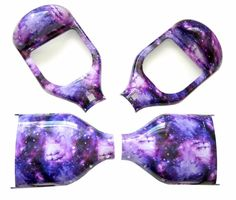 Purple Galaxy Shell Cover Self Balancing Scooter Electric HoverBoard Replacement #scooter #electric #hoverboard #replacement #balancing #self #galaxy #shell #cover #purple