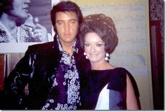 Fan Carol Jacobs and Elvis Presley