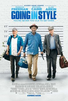 Going in Style is a new comedy about 3 retirees that rob a bank. Starring Oscar winners Morgan Freeman, Michael Cain & Alan Arkin, learn more at Warner Bros Go To Movies, Great Movies, Hd Movies, Movies Online, 2017 Movies, Movies Free, Netflix Movies, Joey King, Streaming Vf