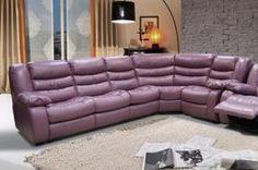 Угловой кожаный диван Манчестер 1