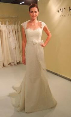 Used Amy Kuschel Wedding Dress Pearl, Size 4    Get a designer gown for (much!) less on PreOwnedWeddingDresses.com