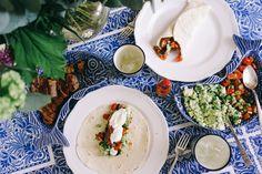 Steak Tacos with Salsa & Feta Guacamole – The Londoner