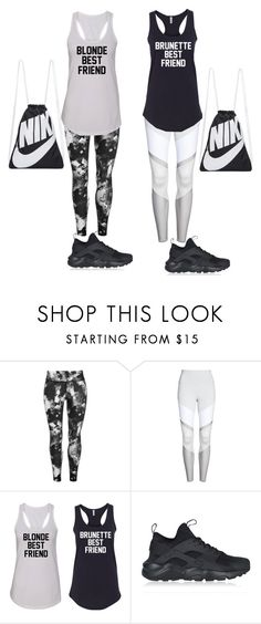 """""""Twins🙎🏼♀️🙎🏻♀️"""" by perisuozgun ❤ liked on Polyvore featuring USA Pro, Alo and NIKE"""