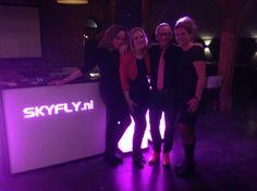 DJ tijdens eindfeest van de MBW2014 bij De Landgoederij in Bunnik