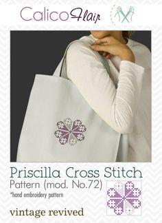 Priscilla Cross Stitch Pattern 72