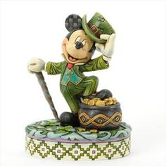 Jim Shore Disney Luck Of The Mouse