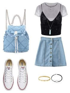 """""""Untitled #8"""" by klaire-ane on Polyvore featuring Related, Converse, Salvatore Ferragamo, Cartier and Alex and Ani"""