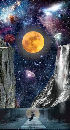 Planets Wallpaper, Galaxy Wallpaper, Galaxy Painting, Galaxy Art, Fantasy Kunst, Fantasy Art, Japanese Art Modern, Space Artwork, Alien Art