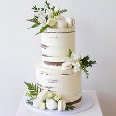WEBSTA @ deliciousbysara - Engagement cake