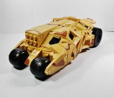 Batman - Batmobile - Camo Tumbler - Action Toy Figure Vehicle - DC Comics Mattel
