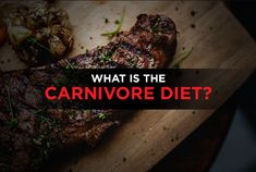 What's The Carnivore Diet? - A Beginner's Guide Meat Diet, Types Of Diets, High Fat Diet, Grass Fed Beef, Fruit And Veg, No Carb Diets, Meal Planning, Vegetarian Recipes, Cool Photos