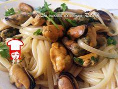 Linguine o spaghetti con le cozze | La cucina di nonna Rita