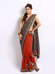 Ambica Multi-Coloured Embroidered Jute Georgette Fashion Saree | Myntra http://www.myntra.com/women-sarees?nav_id=606&src=tn