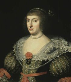 1628 Elizabeth, Queen of Bohemia by the studio of Michiel Jansz. van Miereveldt (National Gallery of Scotland - Edinburgh, UK). I did not record the source of this image.