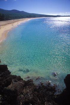Makena Beach, Maui, Hawaii.... We're getting mArried here!
