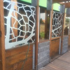 Screens for Watergardens hotel