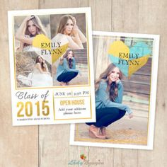 Check out our senior announcement template selection for the very best in unique or custom, handmade pieces from our shops. Senior Announcements, Photoshop, Graduation, Templates, Books, Etsy, Stencils, Libros, Book