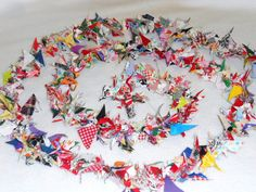 Circus Garland Wedding Garland Shower Bunting Luau Banner Fabric Birthday Party Photography Photo Prop 12' 1/2 Off. $14,00, via Etsy.