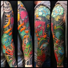 Tattoo by Kris Magnotti, this is one of my favorite artists. He's currently at New York Adorned