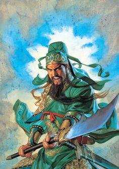 Guan Yu by Tsuyoshi Nagano