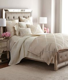 Pretty tan bedding set