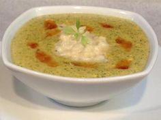 Broccoli and Roasted Cauliflower Cheese Soup Recipe