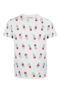 White Ice Lolly T-Shirt