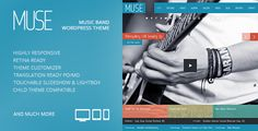 30 Pure music wordpress themes for Musician, Music Band and DJs