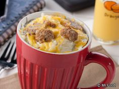 Breakfast in a Mug - Breakfast is ready in only 2 minutes!