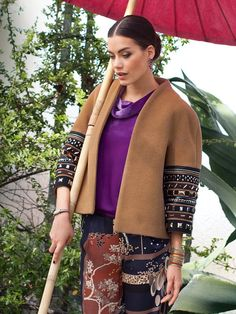 I love Burda patterns! I am researching a coat for some fab olive green wool fleece. Feel free to chime in or just repin.