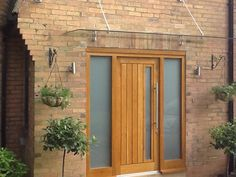Mexicano Contemporary External Solid Oak Door